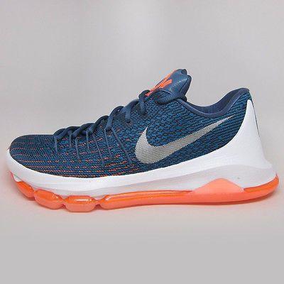 Nike KD 8 VIII Ocean Fog Mens 749375-414 Blue Durant Basketball Shoes Size  10.5