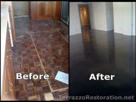 17 best images about terrazzo cleaning on pinterest for Caring for polished concrete floors