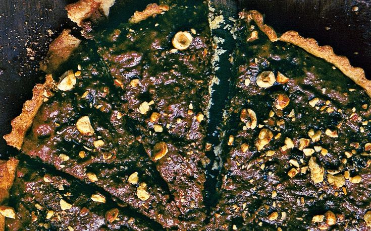 Chocolate and toasted-nut tart recipe - Telegraph
