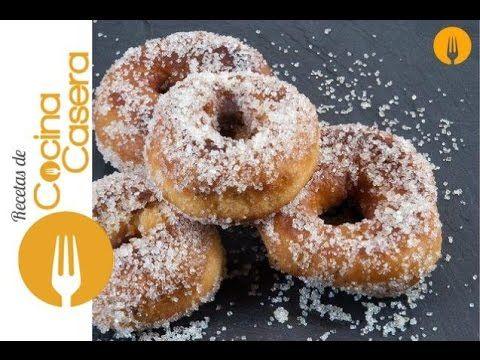 Rosquillas fritas de Semana Santa   Recetas de Cocina Casera - Recetas fáciles y sencillas