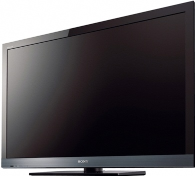 """I wanted the 55"""" tv but he talked me into the 45"""" LED Sony 3-d tv.   I only pouted for a few minutes :)"""