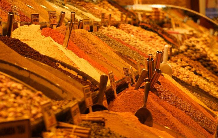 Spice Bazaar Istanbul Turkey 2