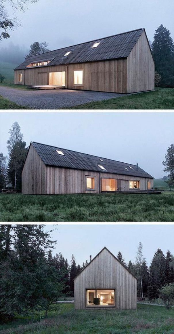 Contemporary House Exterior Modern Wooden House Scandinavian Modern House Architecture House Barn In 2020 Contemporary House Exterior Modern Barn House House Exterior