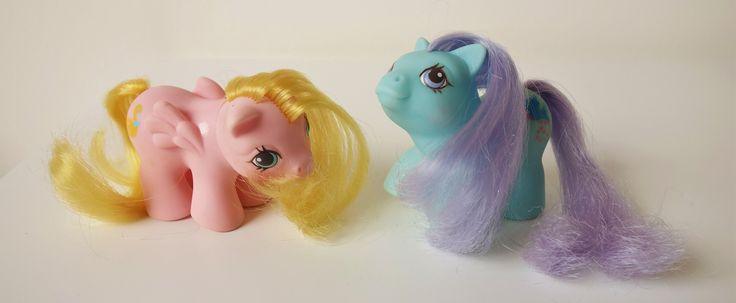 Vintage My little pony baby ponies / Bebes Mi pequeno pony   by misstaito