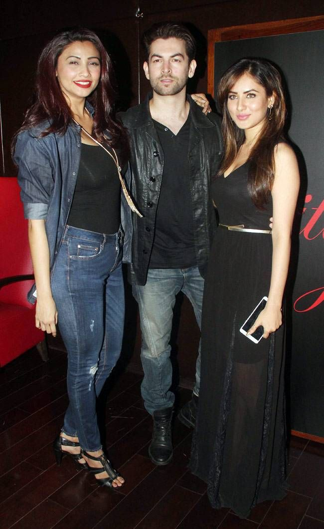 Neil Nitin Mukesh with Daisy Shah and Pooja Bose. #Bollywood #Fashion #Style #Handsome #Beauty #Sexy #Hot