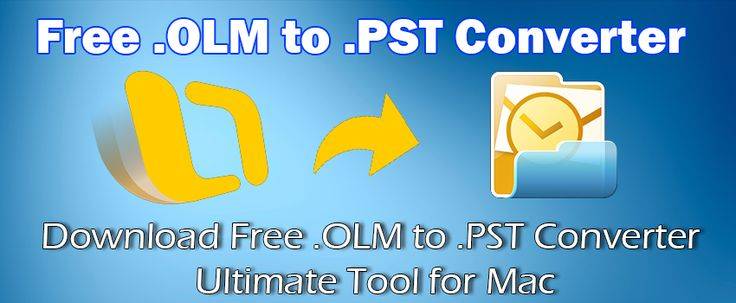 .OLM to .PST Converter free version available now.