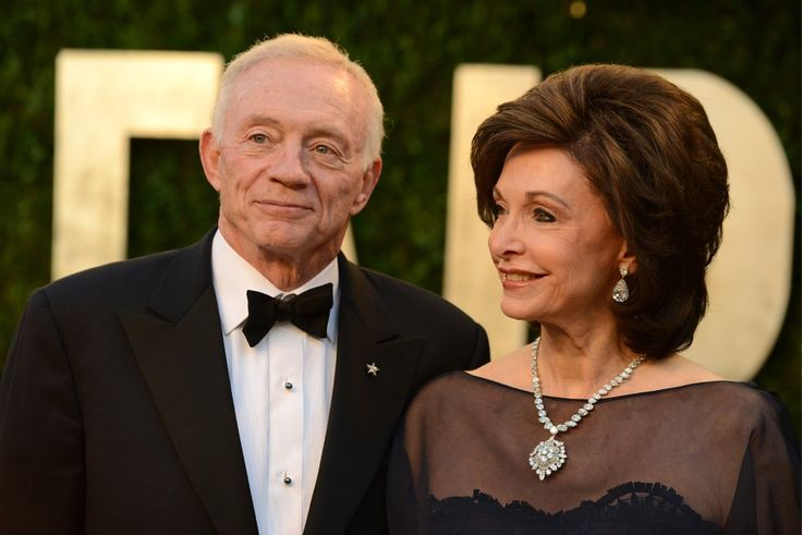 Jerry Jones & Wife
