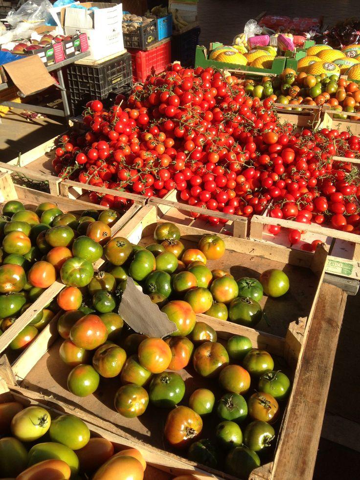 Street Market in Puglia, Italty