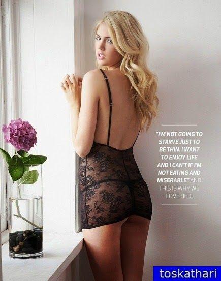 Η Kate Upton με εσώρουχα ανεβάζει την λίμπιντο στα ύψη. The Kate Upton lingerie boosts libido soaring. Divine Trunk and proportions go crazy about male population .....