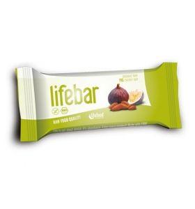 Baton cu smochine raw bio 47g Lifebar