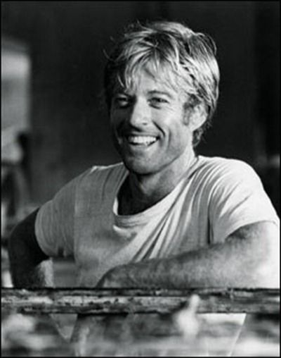 smile,necessary | Robert Redford