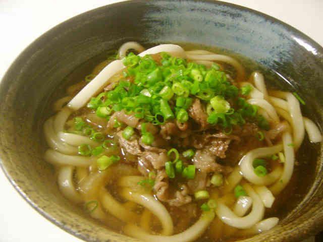 肉うどん〜関西風〜の画像