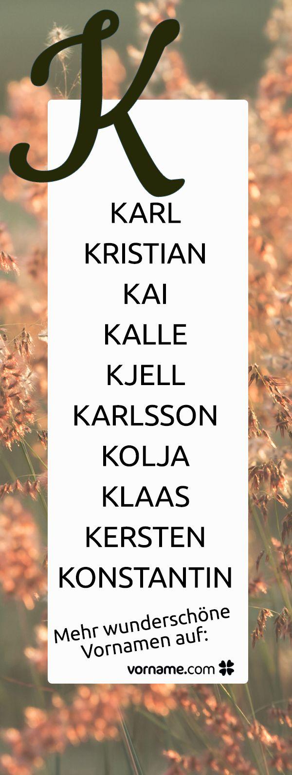 mädchennamen mit k