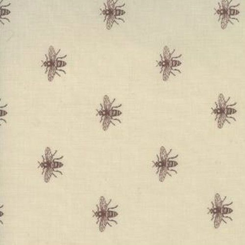 Moda French General Josephine Beauharnais Bee Fabric 13656 14 In Oyster