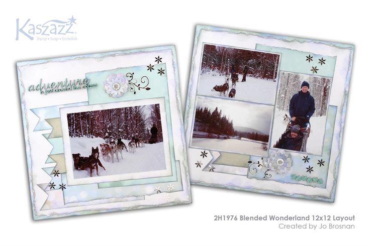 2H1976 Blended Wonderland 12x12 Layout