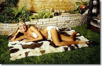 GRACELAND | Linda Thompson at Graceland. Taken in the jungle room.