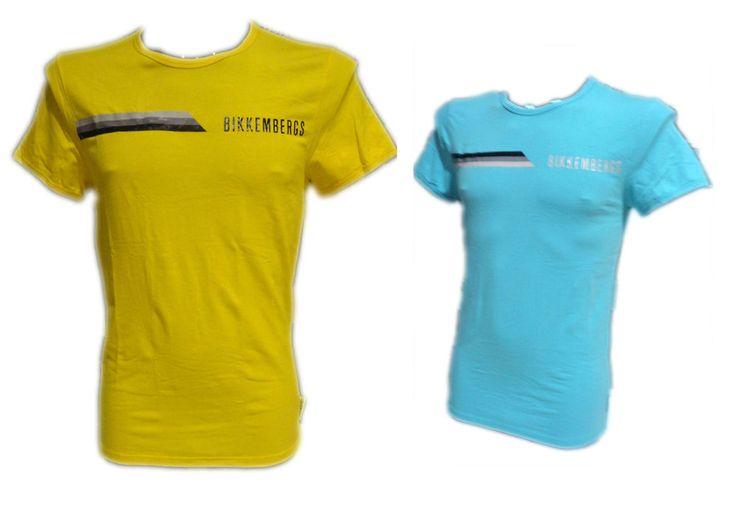T Shirt Bikkembergs uomo 2015 colorata Mens maglia MAglietta maniche corte