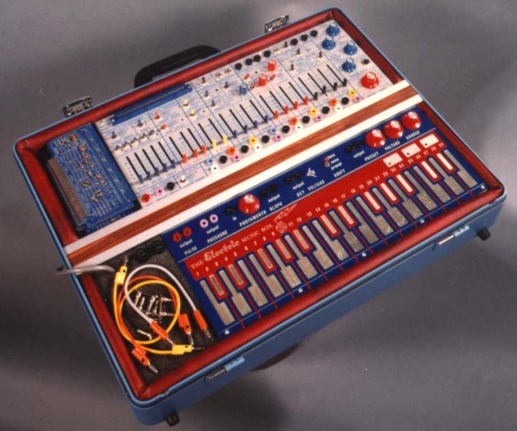 Buchla electric music box #Colourful #Synth