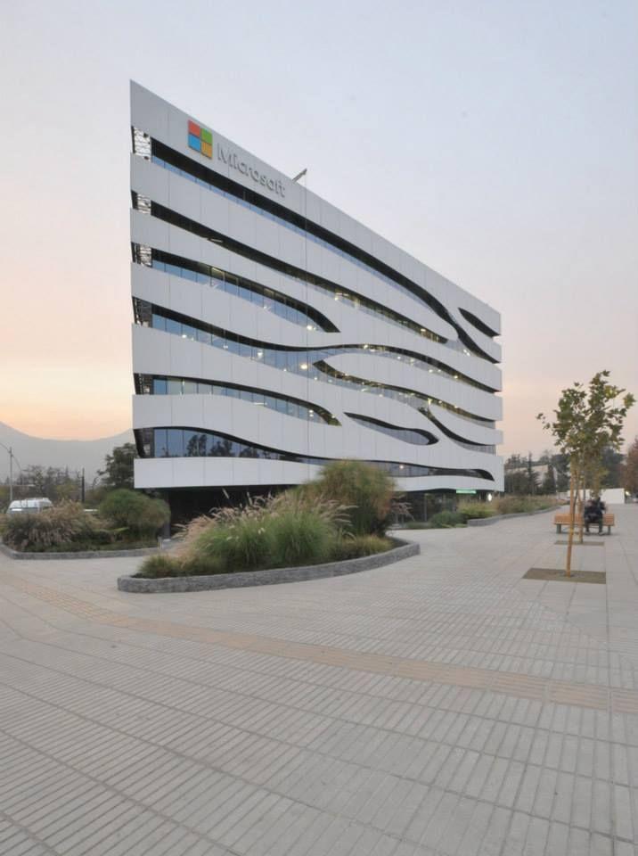 Edificio central Microsoft, Santiago de Chile