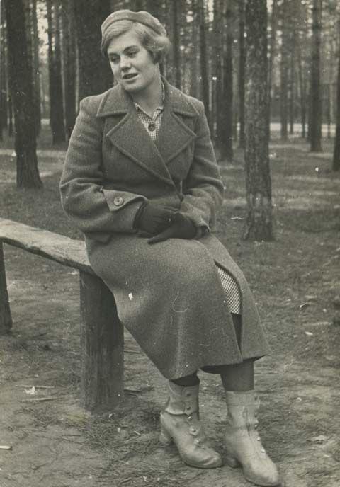 Вера Волошина, вт.пол.1930-х