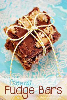 Easy oatmeal fudge recipes