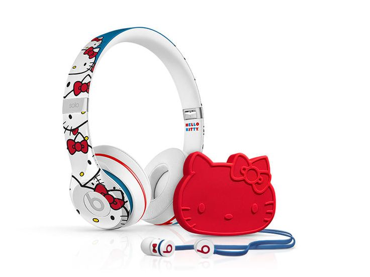 Celebrate Hello Kitty's 40th anniversary with special edition Hello Kitty custom headphones and earphones from Beats by Dr. Dre.