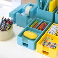 OMG love this website poppin.com. super cute and cheap office supplies