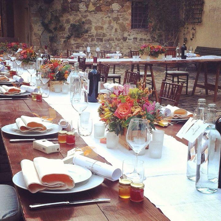 Bruiloftsmaaltijd - Wedding dinner. By www.conamore.it