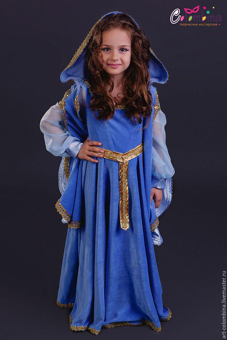Купить Костюм принцессы эльфов - голубой, эльфийка, костюм эльфа, костюм принцессы эльфов