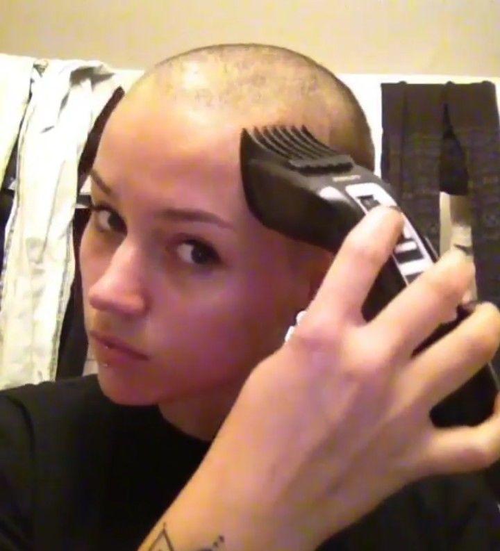 Head shaved their lanciare due