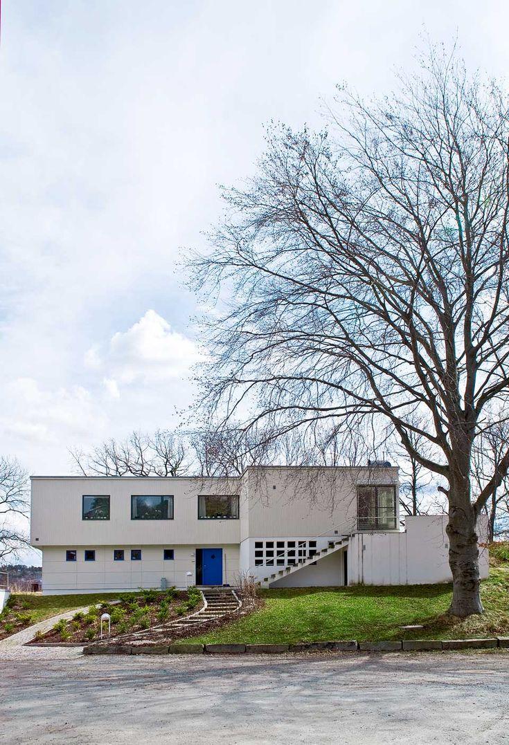 Halden House 1939. Architect: Arne Korsmo