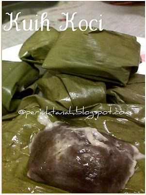 how to make kuih koci