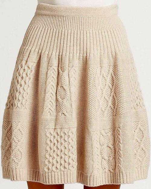 вязаные юбки - Поиск в Google