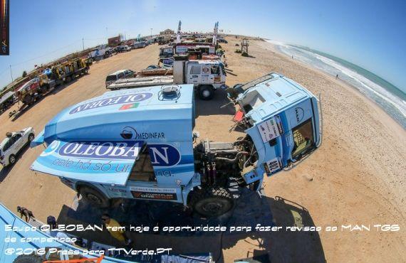 Afriaca Race - Dia descanso para Dakar