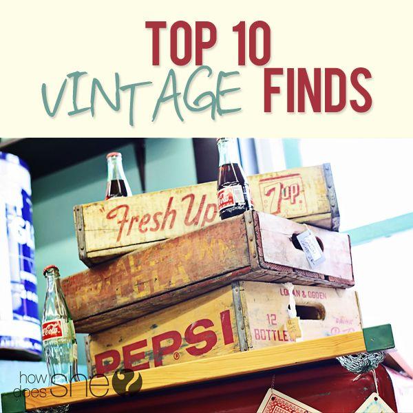 Top 10 vintage finds