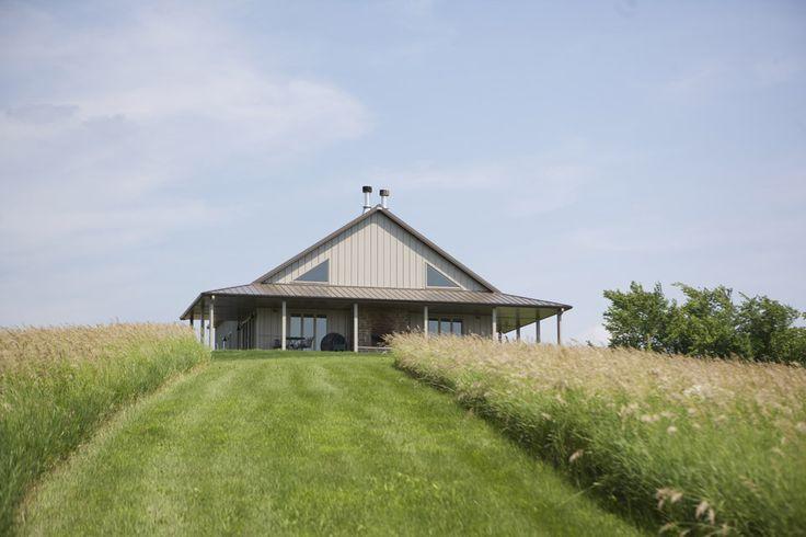 Morton buildings my dream home metal barn home for Morton building cabin