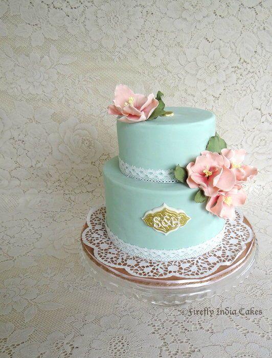 Inspired by Erica Obrien Cake Design.