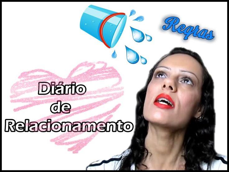 Diário de relacionamento - balde de água fria | Luciana Queiróz