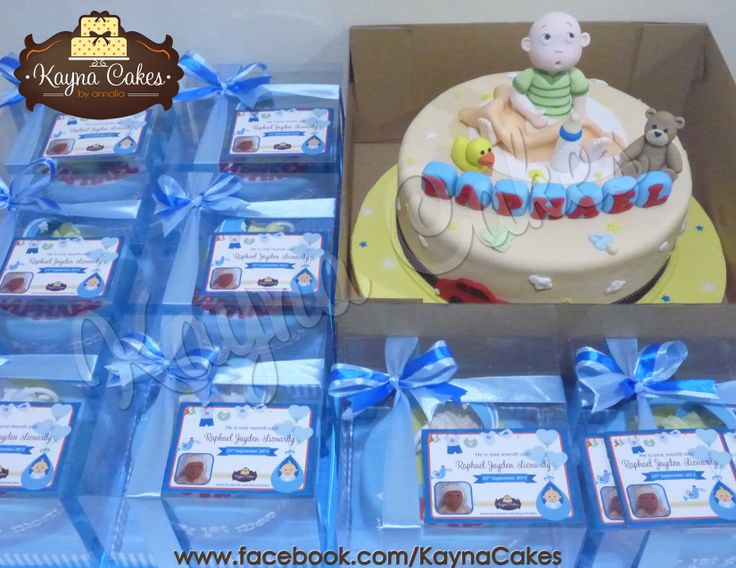 Baby Raphael's cakes ready to be delivered