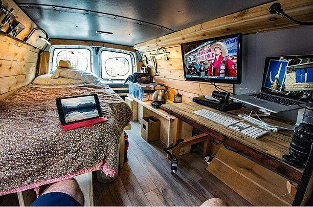 "174 Likes, 6 Comments - Grand Camping (@grandcamping) on Instagram: ""Is there anything else you need? Awesome van!❤ #grandcamping #camping #campingtips #campinghacks…"""