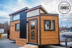The 136 sq ft micro home from Lumbec Tiny House.