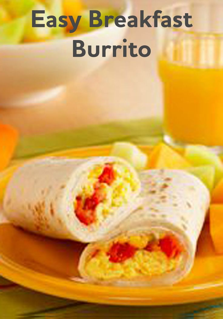 Start your day off right with this Easy Breakfast Burrito recipe—ready to enjoy in just 15 minutes time!