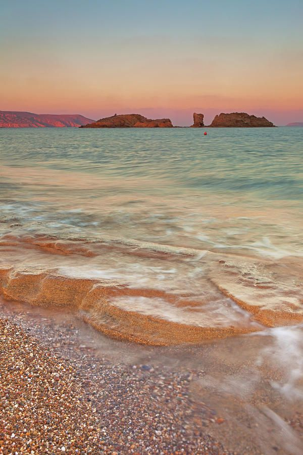 Sea Waves, Sitia,greece Photograph  - Sea Waves, Sitia,greece Fine Art Print