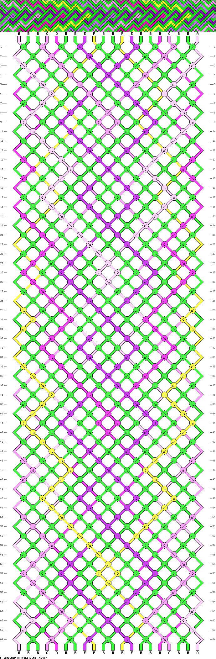 pin by on friendship bracelet patterns