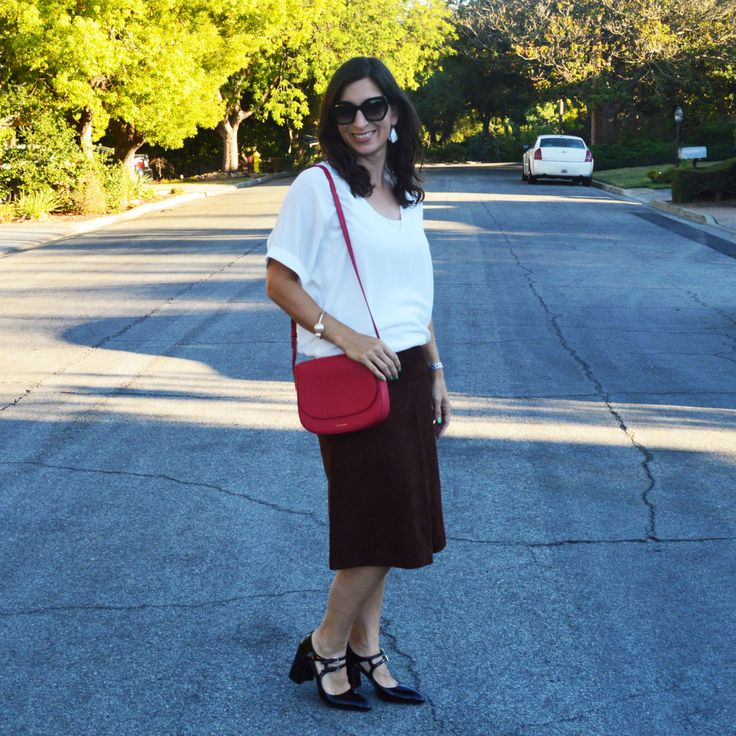 Love this skirt. #ootd #style #fashion #fw15 #personalstyle