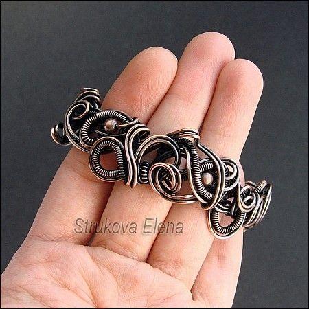 браслет без замка медь,диаметр 6,5см, вес 56г продаётся