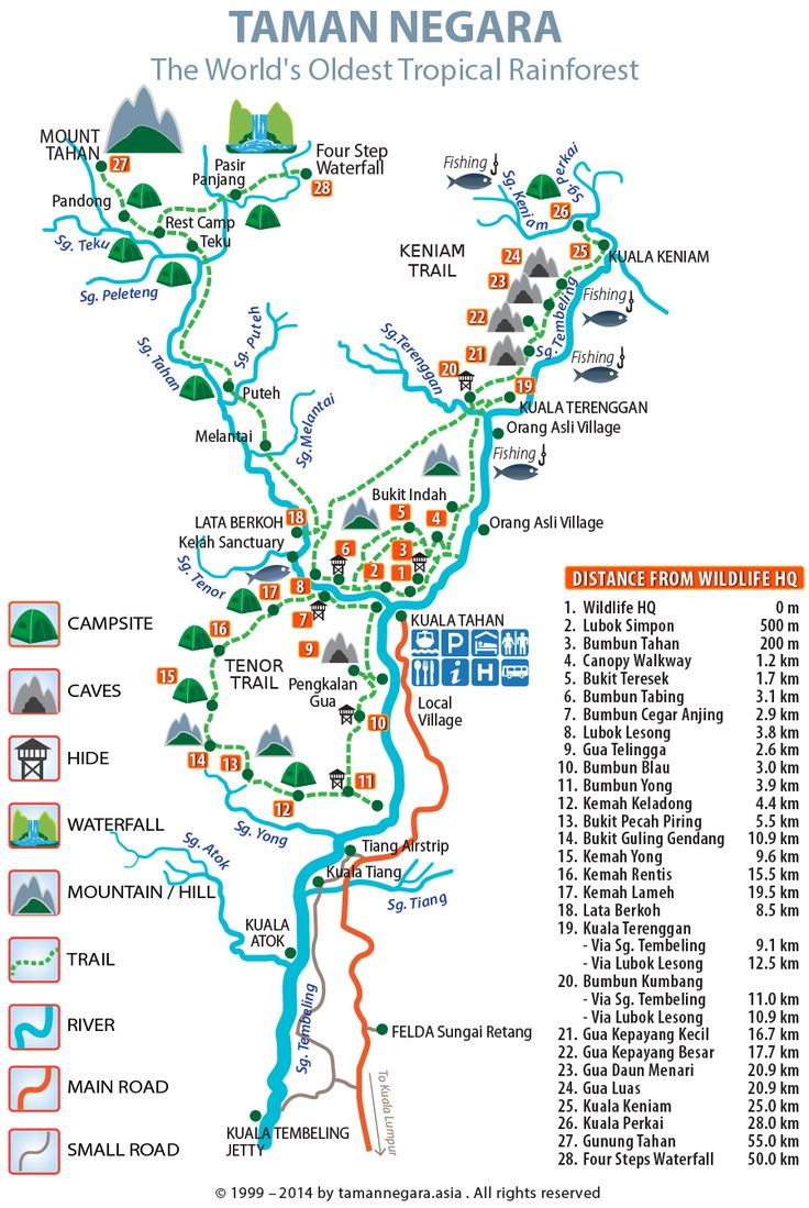 Taman Negara.Map