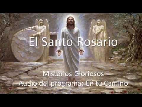 Audio para rezar los Misterios Gloriosos del Rosario - YouTube