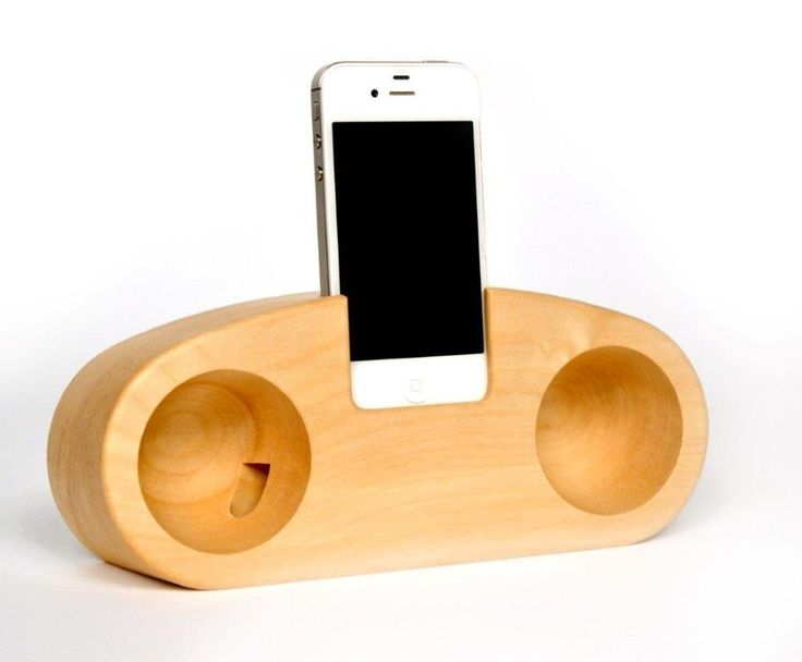 Natural Wooden Acustic Speaker Stereo Made By Solid Wood