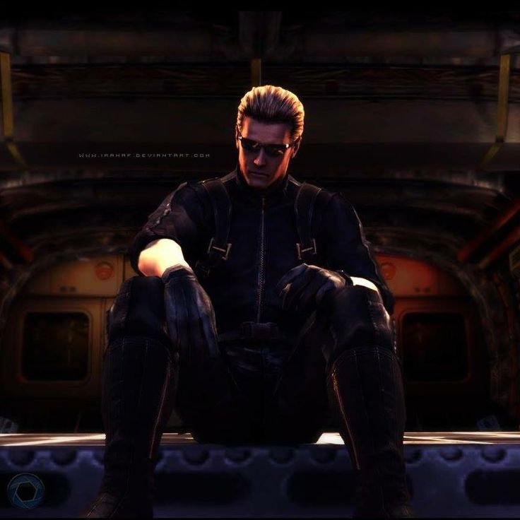 Albert Wesker. All credit goes to Rahaf.